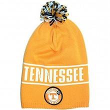 "NCAA Officially Licensed Tennessee Volunteers ""Vols"" Long Pom Beanie Hat Cap Lid"