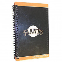 MLB Officially Licensed San Francisco Giants Spiral Journal