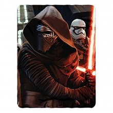 "Star Wars Episode 7: The Force Awakens, Ready Imperial Fleece 45""x60"" Fleece Throw Blanket"