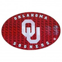 "NCAA University 3-D Heavy Gauge Magnets (9"" x 6"") - Oklahoma Sooners"