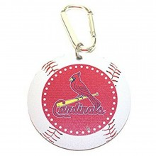 MLB Officially Licensed St. Louis Cardinals Mini Mirror Carabiner Keychain Key Ring