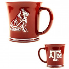 NCAA Officialy Licensed 15 Oz Sculpted Ceramic Mug (Texas A&M)