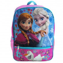 Disney Officially Licensed Frozen Backpack with Half Outer Pocket