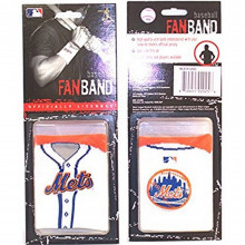 MLB Officialy Licensed New York Mets Fanband Wristband Sweatband