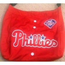 MLB Officially Licensed Embroidered Philadelphia Phillies Jersey Purse Tote Bag