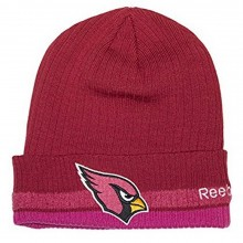 NFL Licensed Arizona Cardinals Breast Cancer Awareness Knit Beanie