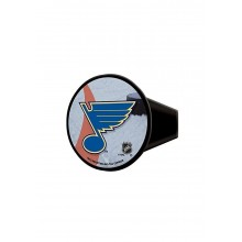 "NHL Licensed 4"" St. Louis Blues Round Design Hitch Cover"