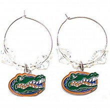 NCAA Officially Licensed Florida Gators Beaded Hoop Earrings