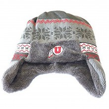 NCAA Officially Licensed Utah Utes Trapper Faux Fur Lined Beanie