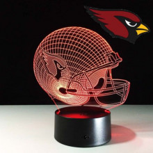 Arizona Cardinals 3-D Helmet Night Light