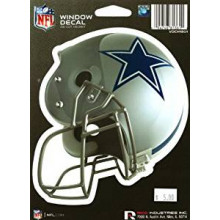 "Dallas Cowboys 6"" Helmet Die-Cut Window Decal"
