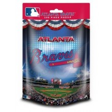 Atlanta Braves 100 Piece Bag Puzzle