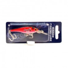 Atlanta Braves Minnow Crankbait Fishing Lure