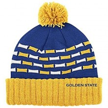 NBA Officially Licensed Golden State Warriors Women's Beanie Hat Cap Lid