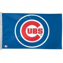 Chicago Cubs 3' X 5' Banner Flag