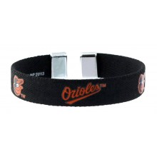 Baltimore Orioles Ribbon Band Bracelet