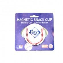 Tampa Bay Rays Magnetic Snack Clip