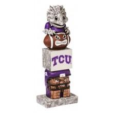 Texas Christian University (TCU) Horned Frogs Tiki Totem