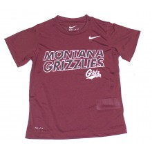 NCAA Licensed Montana Grizzlies YOUTH Dri-Fit T-Shirt (Size 4)