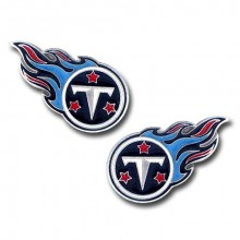 Tennessee Titans Logo Stud Earrings