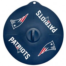 "New England Patriots 9"" Silicone Lid"