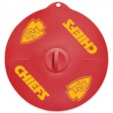 "Kansas City Chiefs 9"" Silicone Lid"