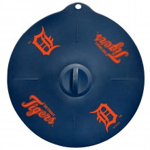 "Detroit Tigers 9"" Silicone Lid"