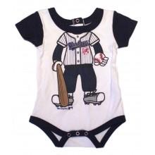 MLB Licensed New York Yankees Player Bodysuit Creeper Crawler