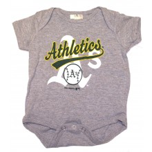 MLB Licensed Oakland Athletics A's Bodysuit Creeper Crawler