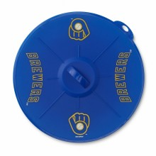 "Milwaukee Brewers 9"" Silicone Lid"