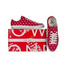 """MLB Officially licensed Womens St.Louis Cardinals """"STL"""" Row One Victory Sneaker Tennis Shoes"""