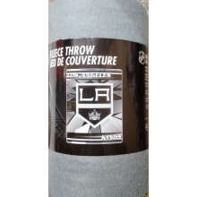 "NHL Officially Licensed Los Angeles Kings Broken Ice Fleece Throw (50"" x 60"")"