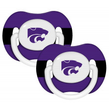 Kansas State Wildcats Baby Fanatics 2 Pack Pacifiers