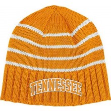 NCAA Officially Licensed Tennessee Volunteers Embroidered Cuffless Beanie Hat Cap Lid Toque by Adidas
