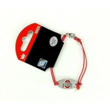 NCAA Officially Licensed Ohio State Buckeyes Logo String Bracelet