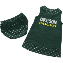 NCAA Licensed Oregon Ducks INFANT 2 Piece Dress and Bloomers Set