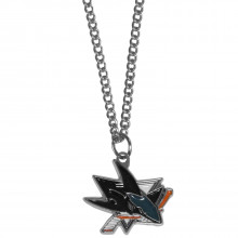 NHL Officially Licensed San Jose Sharks Pendant Necklace