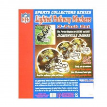 NFL Officially Licensed 3 pack Lighted Pathway Markers (Jacksonville Jaguars)