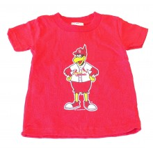 MLB Licensed St. Louis Cardinals Fredbird CHILD Shirt (Size 3)