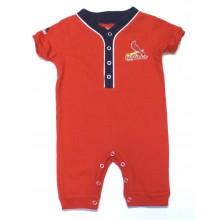 MLB Officially Licensed St. Louis Cardinals INFANT Bodysuit Romper