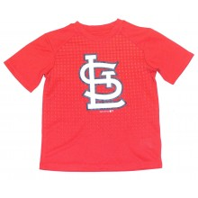 MLB Officially Licensed St. Louis Cardinals Performance YOUTH Logo T-Shirt