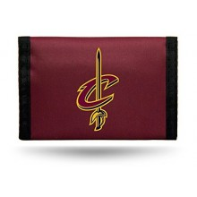 Cleveland Cavaliers Tri-Fold Nylon Chamber Wallet