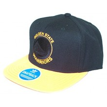 NBA Officially Licensed Golden State Warriors Two Tone Embroidered Flatbill Hat Cap Lid