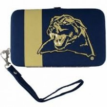 "Pittsburgh Panthers Distressed Wallet Wristlet Case (3.5"" X .5"" X 6"")"