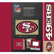 "NFL Officially Licensed San Fransisco 49ers 12"" X 12"" Tapestry Complete Scrap..."