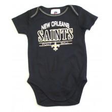 New Orleans Saints Black Bodysuit