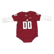 NCAA Licensed Washington State Cougars Layered Look Bodysuit