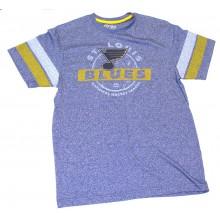 "NHL Licensed St. Louis Blues ""Past The Limit"" Short Sleeve Shirt (Large)"