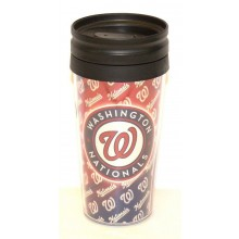 MLB Licensed 12 oz Repeater Insulated Travel Cup (Washington Nationals)