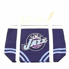 Utah Jazz 2 Handle Canvas Tote Bag